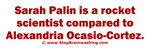 Palin vs AOC
