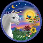 Unicorn and Blue Bird