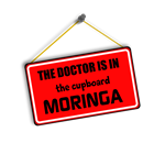 THE DOCTOR IS IN THE CUPBOARD MORINGA