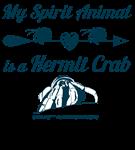 My Spirit Animal is a Hermit Crab