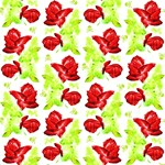 Rose Skulls Colorful Pattern