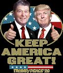 Trump Reagan Keep America Great!