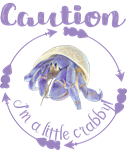 Caution! I'm at Little Crabby