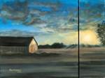 Barn at Sunrise