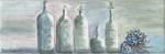 Spa Bottles with Hydrangea