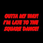 Square Dance Bumper Stickers