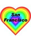 SF Rainbow Heart