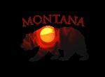 Montana Sunrise Bear