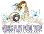 Girls Play Pool Too Collection