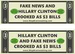 Hillary: Crooked as $3 bill