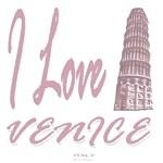 I Love Venice Italy