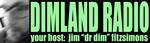 Dimland Radio Banner Logo