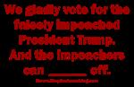 Vote for Impeached Trump