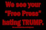 Free Press Hates Trump