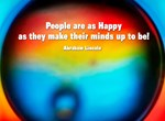 People are as Happy