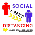 Social Distancing Six Feet