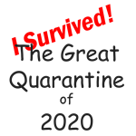 I survived the great Quarantine of 2020