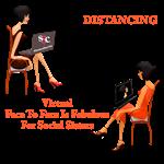 Social Distancing Sisterhood Style
