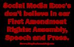 Social Media Killing Rights