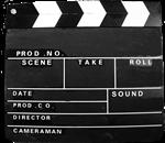Movie Clapperboard Design