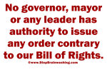 You CAN'T Kill our Bill of Rights