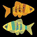 Modern Art Fish