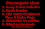 Obamagate Lies & Crimes