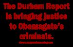 Durham Report on Obamagate