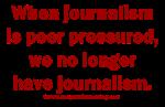 No Journalism