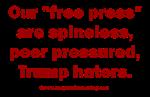 Our Press Hates Trump