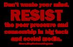 Resist Censorship