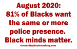Blacks Wants Matter