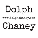 Dolph Chaney Logo typewriter