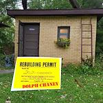 Dolph Chaney REBUILDING PERMIT