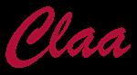 CLAA Crimson Script Initials