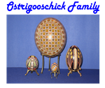 The Ostrigooschick Pysanky Family