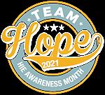 TEAM HOPE Awareness Month 2021