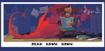 David Biedrzycki -Dragon Reading