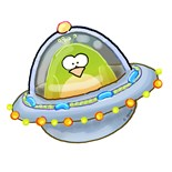 Spaceship Penguin