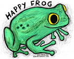 Happy Frog T-shirts and stuff