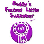 I Daddys Fastest Little Swimmer
