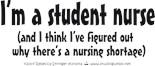 Funny Nursing Student