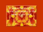 Psalm 113:1