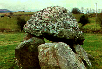 Dolmen at Carrowmore site, near Sligo Town, Co. Sligo, Rep. of Ireland