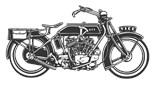 Bikers Motorcycles Choppers Riders