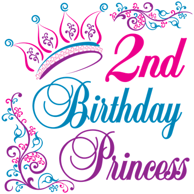 2nd Birthday Princess Invitations By Admincp3085590
