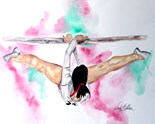 Womans Gymnastics