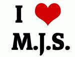 I Love  M.J.S.