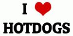 I Love HOTDOGS