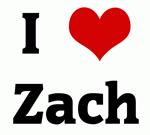 I Love Zach